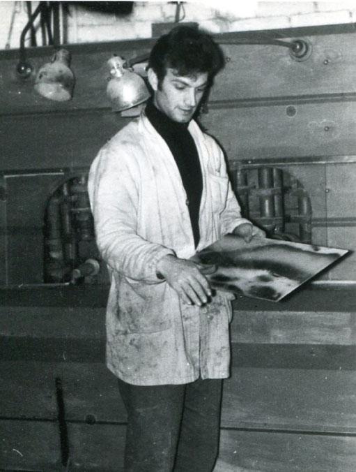 Mario Ferranti, fondatore della Faber vetreria Srl