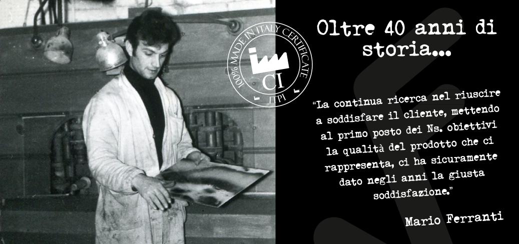 Faber Vetreria, Mario Ferranti